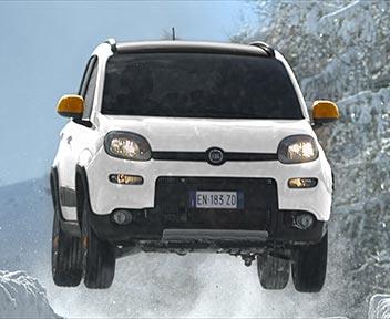 Fiat panda antartica partono le vendite il sole 24 ore for Immagini panda 4x4