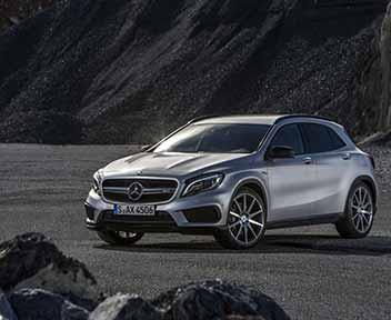 Mercedes gla ecco come va e quanto costa il primo for Quanto costa costruire un portico anteriore