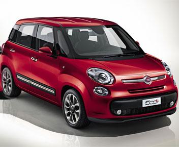 Fiat 500 l la formula delle utilitarie del futuro il for Disegni delle macchine
