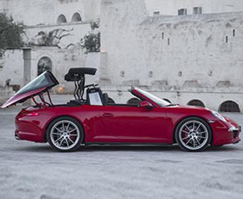 Porsche 911 ritorna il mito americano della targa il for Porche americano