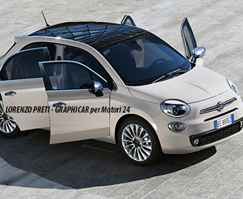 fiat prepara la 500 con cinque porte e la 124 spider speciale novit auto 2015 il sole 24 ore. Black Bedroom Furniture Sets. Home Design Ideas