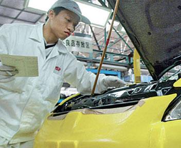gaig socio per produrre auto in Cina