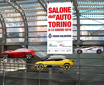 FOTO: Concept car in scena al Salone di Torino dall'8 giugno