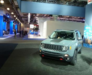 Jeep renegade il suv made in italy debutta a new york for 24 hour salon nyc