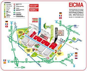 Eicma 2012 quando andare dove e cosa vedere eicma 2012 for Cosa vedere a los angeles in 2 giorni